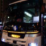 夜行バスで東京ディズニーシーへ